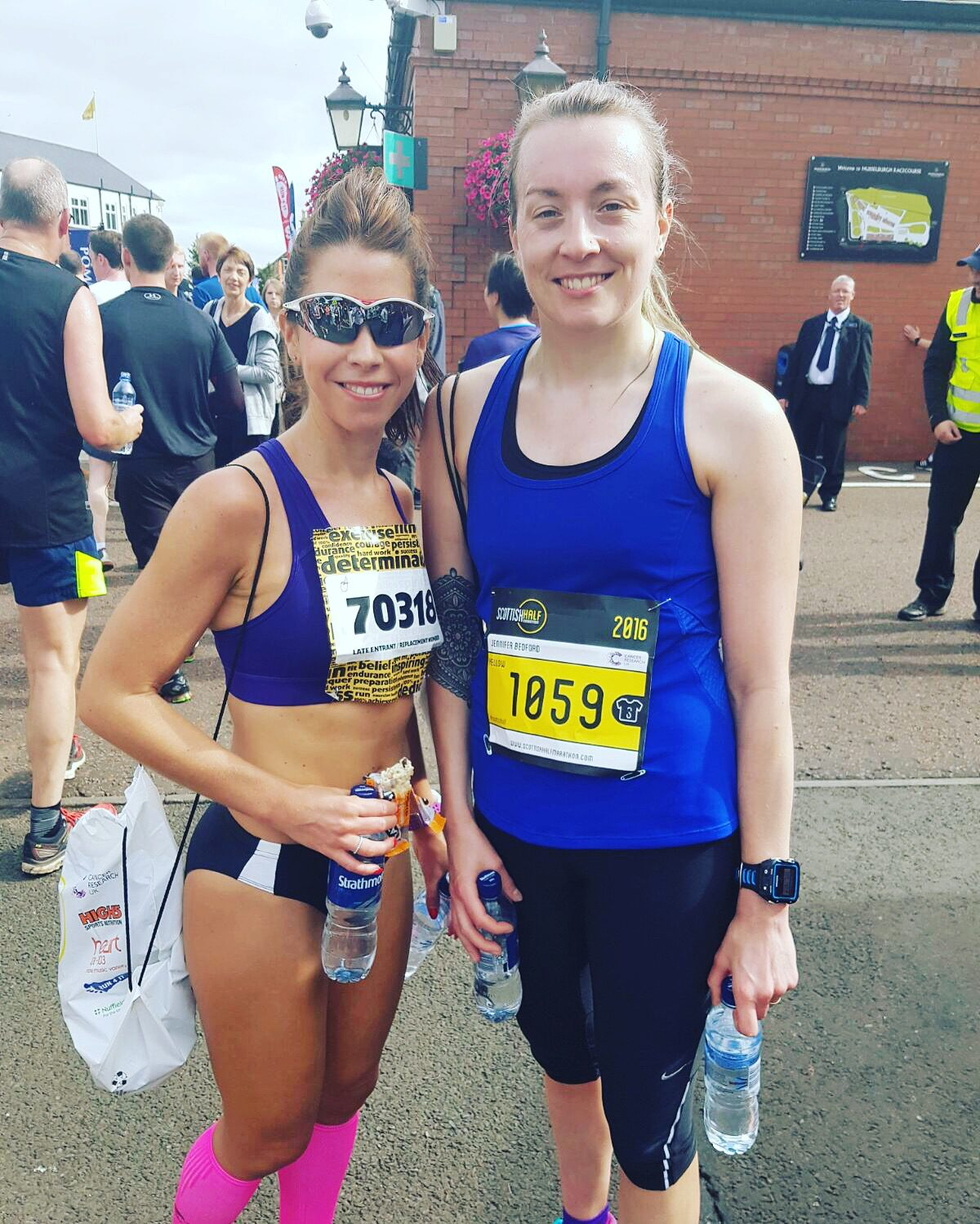 Scottish half marathon race report