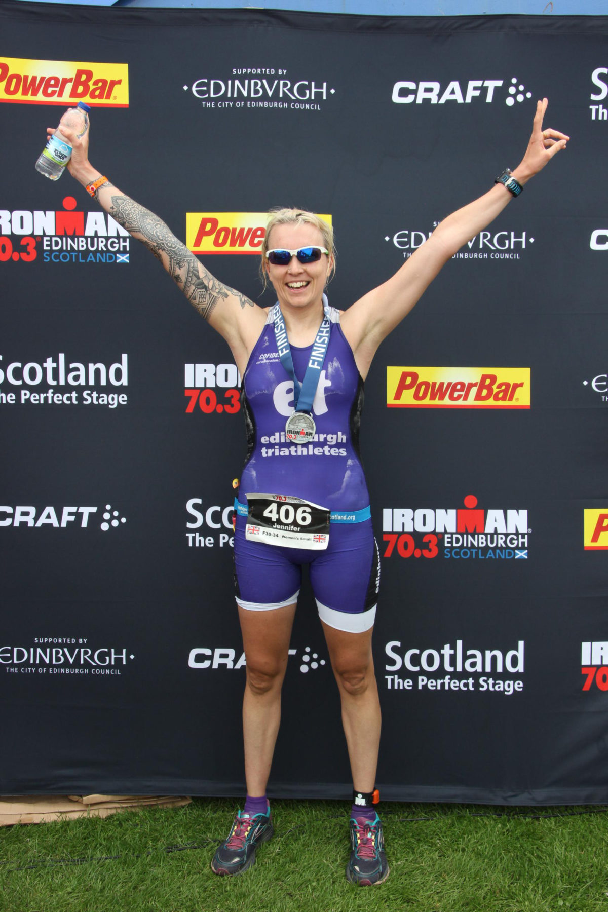 Edinburgh Ironman 70.3 Race Report