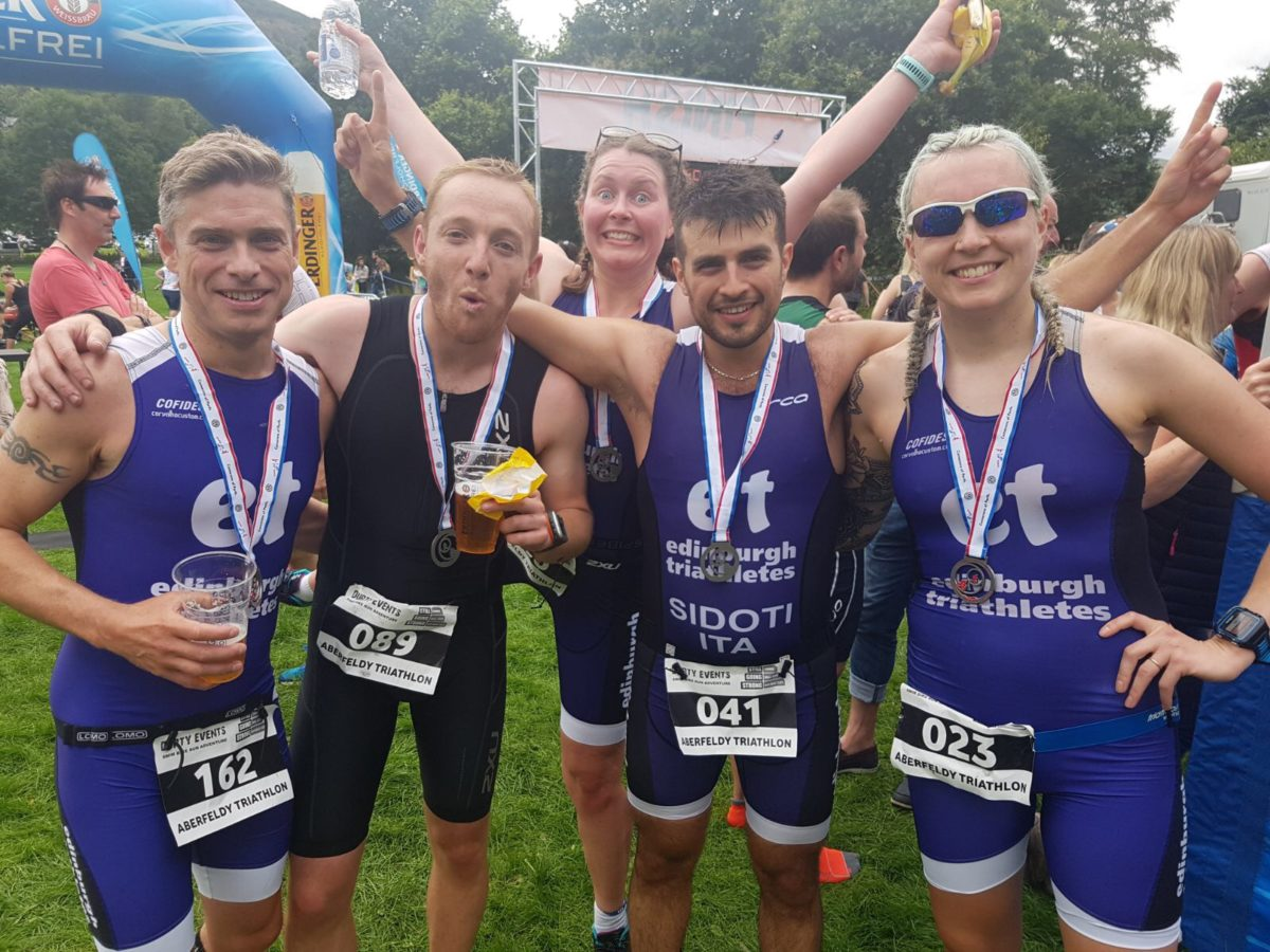 Aberfeldy Middle Distance Triathlon Race Report 2017